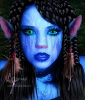 Avatar girl by annemaria48
