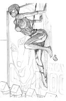Spidergirl by xiwik