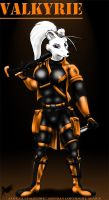 R-Force- Valkyrie by Aelius24