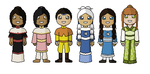 Avatar O.C.s - Avatar Minis by innocent--angel