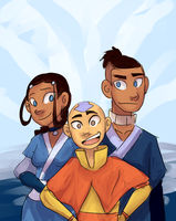 Avatar - Book One by schellibie