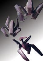 A paper model Sentinel by Moi! by drskytower