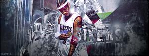 Allen Iverson - Sixers by TiaSevenGFX