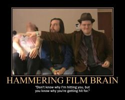 Motivation - Hammering Film Brain by Songue
