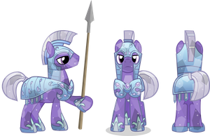 Crystal royal guard by Vector-Brony
