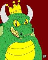 Koopa King Portrait by SlySonic