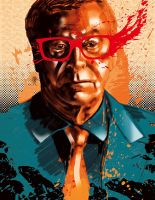 Michael Caine by fridhelm