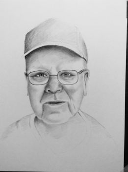 Uncle Ron work in progress by SickyGreen