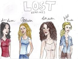 the heroines of lost by solemnlyswear22