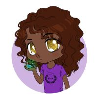 chibi hazel by BlackNina