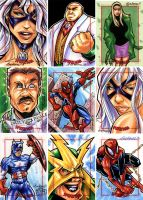 Spider-Man Archives sketches 1 by Axebone