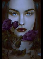 Dark Flower by Nikulina-Helena