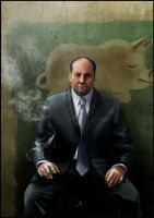 Tony Soprano by AndyFairhurst