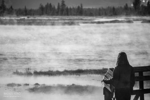 By The Steaming Lake by torobala