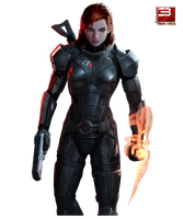 Mass Effect 3 Jane Shepard 01 by PimplyPete