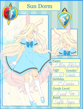 ::UNA Application - Lillian Mckinley:: by mochibuns