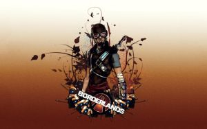 Borderlands - Mordecai by clubbing-claude