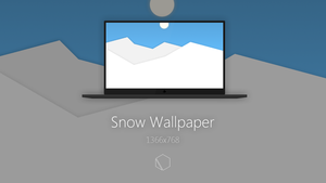Snow Wallpaper by TheButterCat