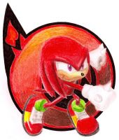 Sonic Heroes :: Knuckles by DabyHedgehog