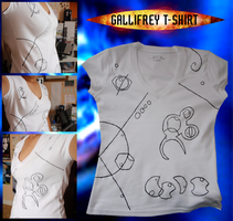 Gallifreyan T-Shirt by virunee