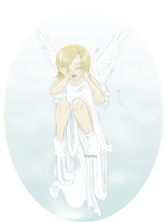 Happy angel ^_^ by EleanorAnsell
