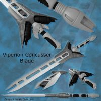 contest entry: Viperion Blade by weaponry-guild