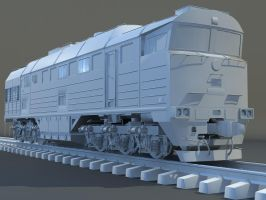 russian locomotive '2TE116' by whocanstoptherain