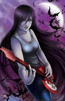 Marceline the Vampire Queen by TyrineCarver