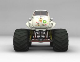 BMW Isetta Monster Truck by kokillo