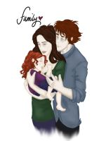 Famille de Cullen 'colored' by alifsu17