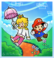 .:Super Paper Maria:. by CloTheMarioLover