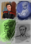 15 mins sketches - nov. 2013 by Darya87