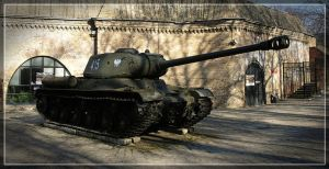 IS-2 heavy tank by WormWoodTheStar