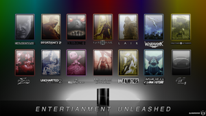 PS3 ENTERTAINMENT UNLEASHED by MARSHOOD