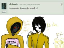 Ask CreepyPastas! Answer 1 - for ~Th3-musix by SomeRandomDudeGirl