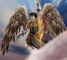 Uriel: Fire of God by gaux-gaux