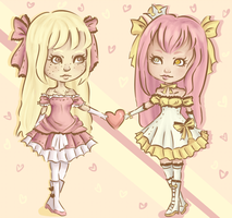 Elissia and Victoria contest entry by KaetlynShae