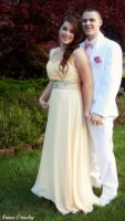 Couple prom portrait by Ranae490