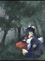 Rain for two by Pharaonenfuchs