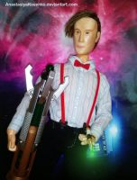 The Eleventh Doctor - BJD (With sonic screwdriver) by AnastasiyaKosenko