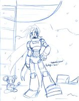 Trigger and Data in Blue by Megaman-Legends-Club