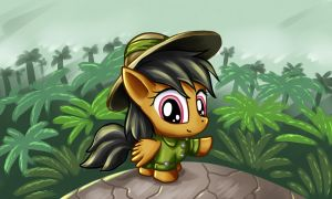 Chibi Daring Do by alexmakovsky