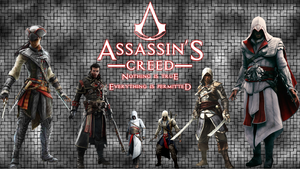 Assassin's Creed Rainmeter Skin by achintyagk