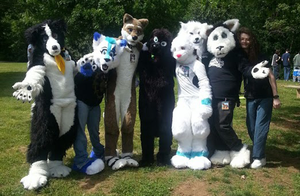 Pullen Park Furry Meet-up: Group Picture! by Ice-Artz