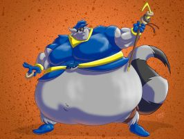 Sumo Sly Cooper by RickyDemont