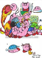kirbys by Nintendrawer