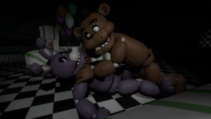 Freddy and Bonnie [Can You Speak Up?] by BetrayingtheMartyr