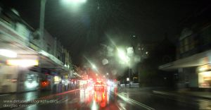 bondi in the rain by detune