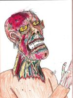Grumble Zombie by gollum42
