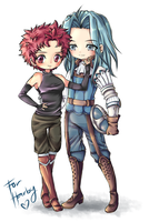 CM: Sully and Virion by Candy-DanteL